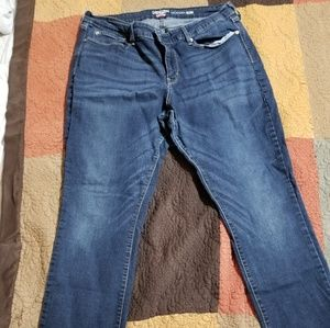 Levis Denizen modern slim Jean's size 18 short euc